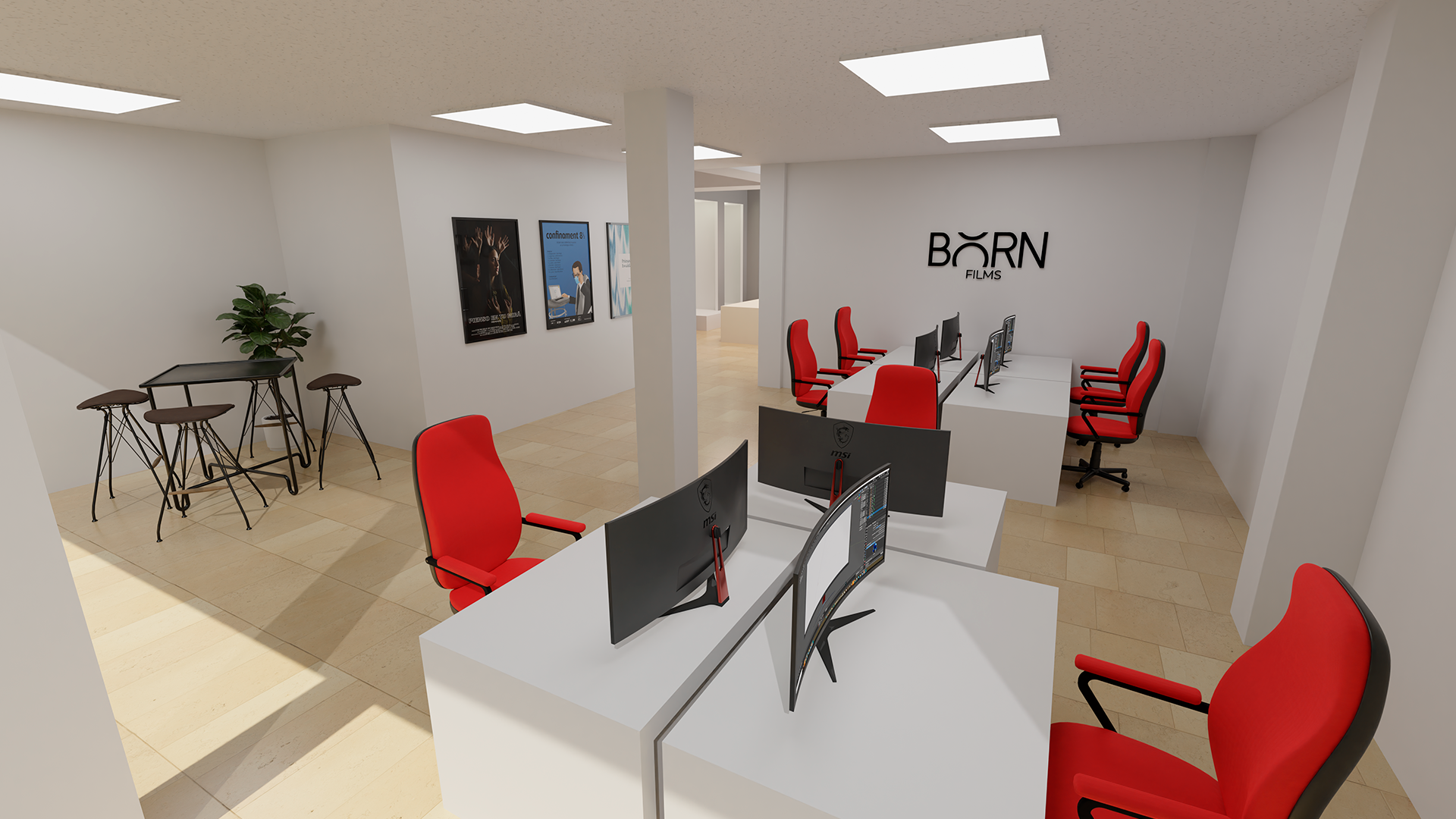 Born Office Render